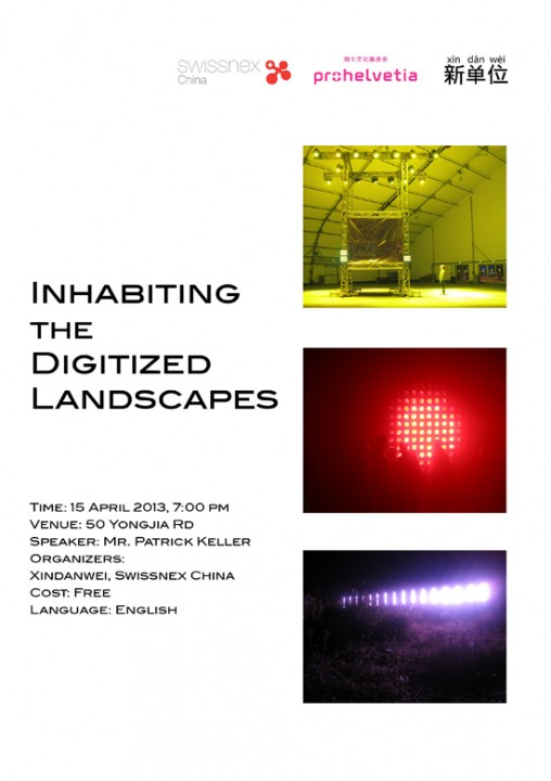 Inhabiting the Digitized Landscapes